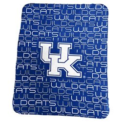 Logo University of Kentucky 50 in x 60 in Classic Fleece Blanket