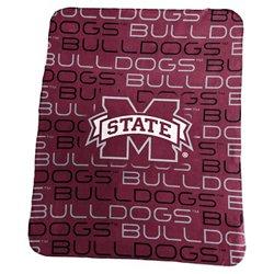 Logo Mississippi State University 50 in x 60 in Classic Fleece Blanket