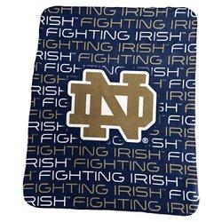 "Logo™ University of Notre Dame 50"" x 60"" Classic Fleece Blanket"
