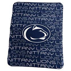Logo Penn State 50 in x 60 in Classic Fleece Blanket