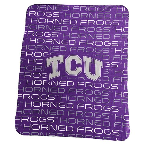 Logo™ Texas Christian University 50' x 60' Classic Fleece Blanket