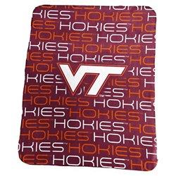 Logo Virginia Tech 50 in x 60 in Classic Fleece Blanket