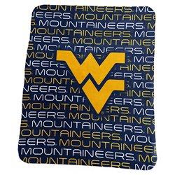 Logo West Virginia University 50 in x 60 in Classic Fleece Blanket