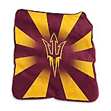 "Logo Arizona State University 50"" x 60"" Raschel Throw"