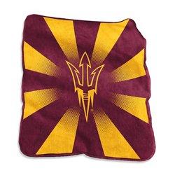 "Logo Arizona State University 50"" x 60"" Raschel Throw"