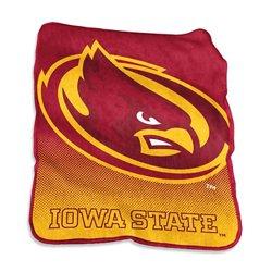 Logo Iowa State University 50 in x 60 in Raschel Throw