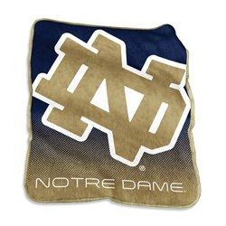 "Logo™ University of Notre Dame 50"" x 60"" Raschel Throw"