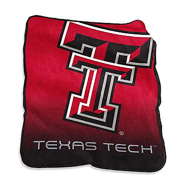 "Logo™ Texas Tech University 50"" x 60"" Raschel Throw"