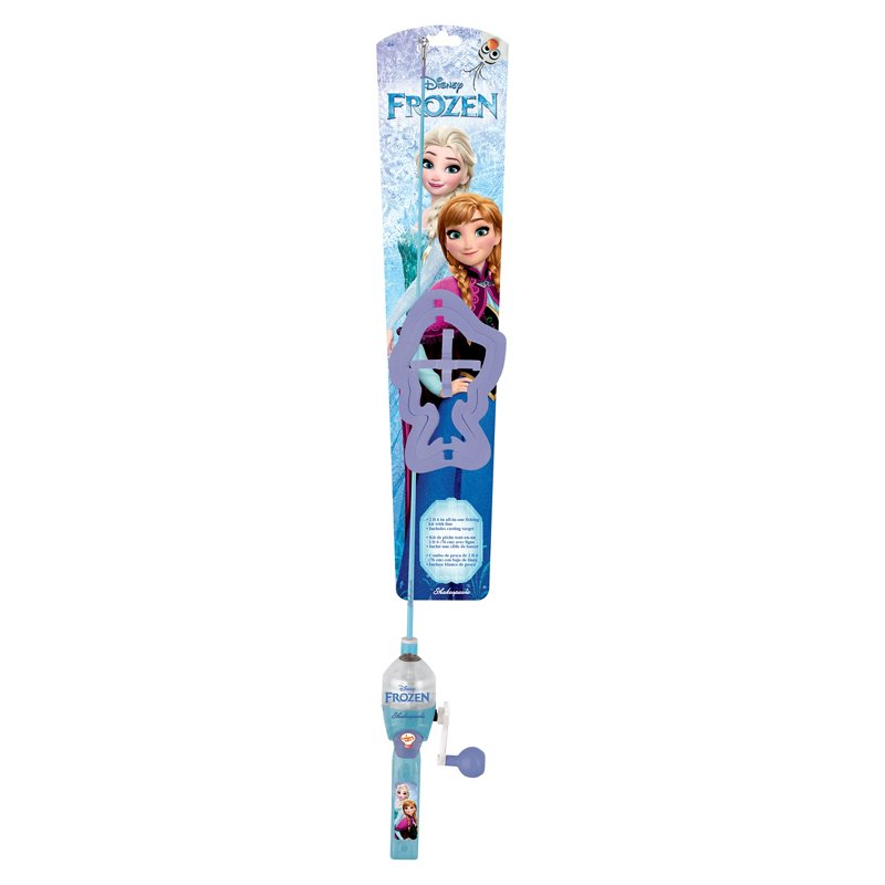 Shakespeare Kids' Disney Frozen 2'6″ M Spincast Rod and Reel Combo Blue – Fishing Combos, Packaged Combos at Academy Sports