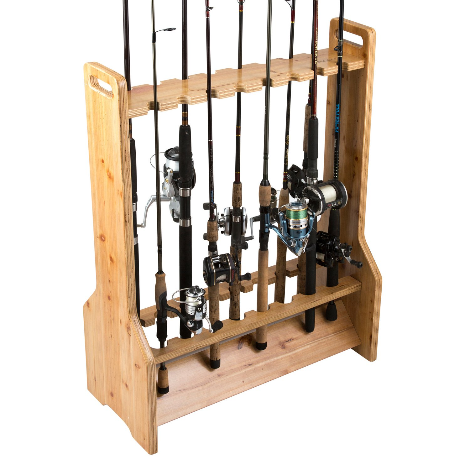 Rush Creek 16-Rod Double-Sided Storage Rack - view number 2