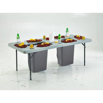 Academy Sports Outdoors 7 Ft Folding Cookout Table