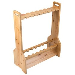 Rush Creek 16-Rod Double-Sided Storage Rack