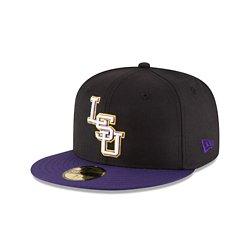 New Era Men's Louisiana State University 59FIFTY Cap