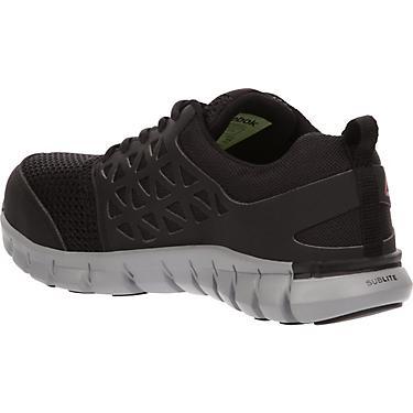 1b980cdb008 Reebok Women's Sublite Cushion Alloy Toe Work Shoes