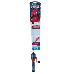 "Shakespeare® Spider-Man 2'6"" Spincast Rod and Reel Combo"