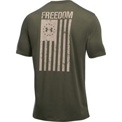 Men's Freedom Flag Short Sleeve T-shirt