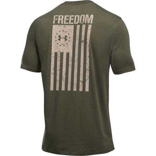 Under Armour Men's Freedom Flag Short Sleeve T-shirt