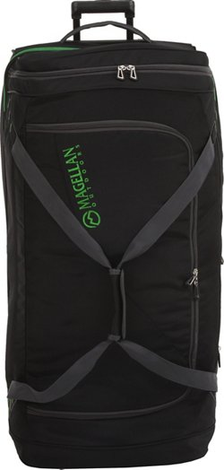 Magellan Outdoors 36 in Drop Bottom Wheeled Duffel Bag