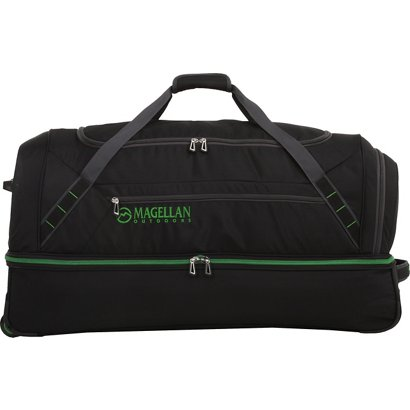 Magellan Outdoors 36 In Drop Bottom Wheeled Duffel Bag
