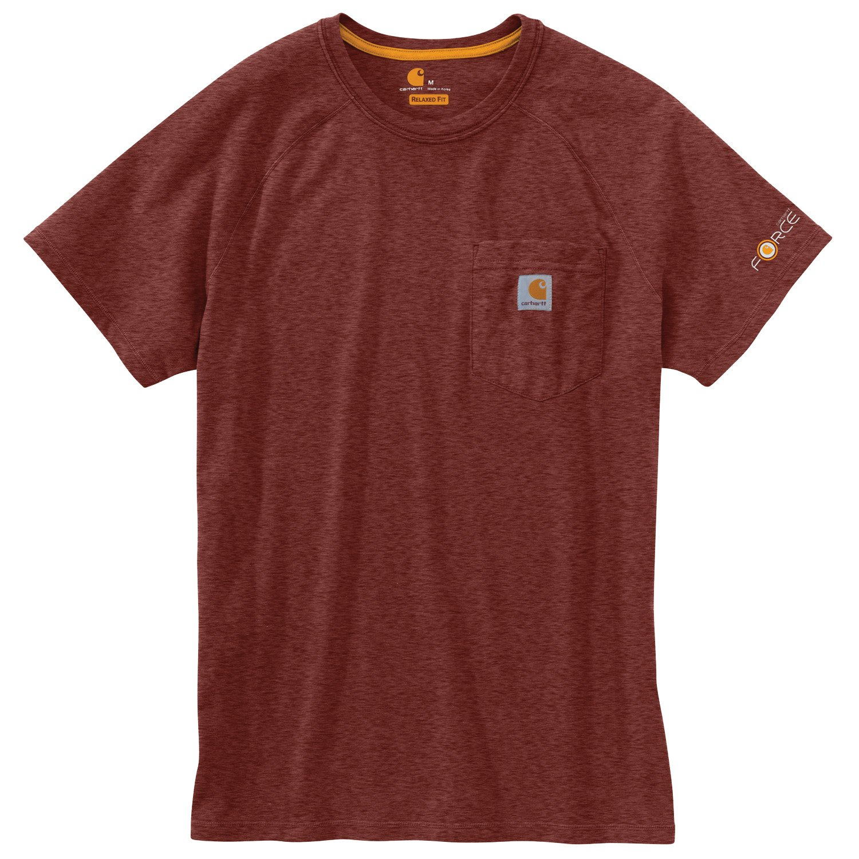 53ad3645 Carhartt Men's Force Cotton Short Sleeve T-shirt | Academy