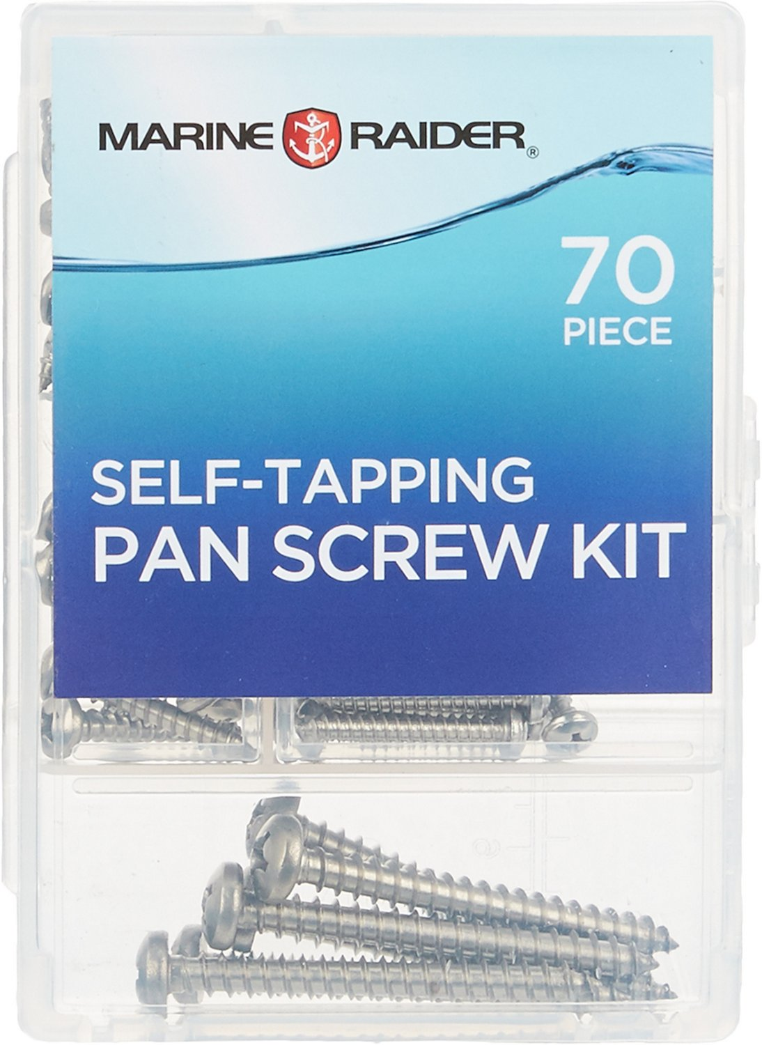 Marine Raider Self-Tapping 70-Piece Pan Machine Screw Kit - view number 1
