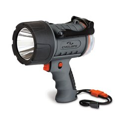 300-Lumen Rechargeable Waterproof LED Spotlight