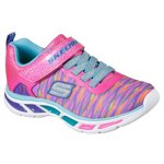 SKECHERS Girls' S Lights Litebeams Colorburst Shoes - view number 3
