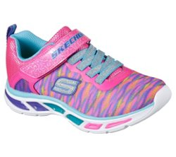 Girls' S Lights Litebeams Colorburst Shoes