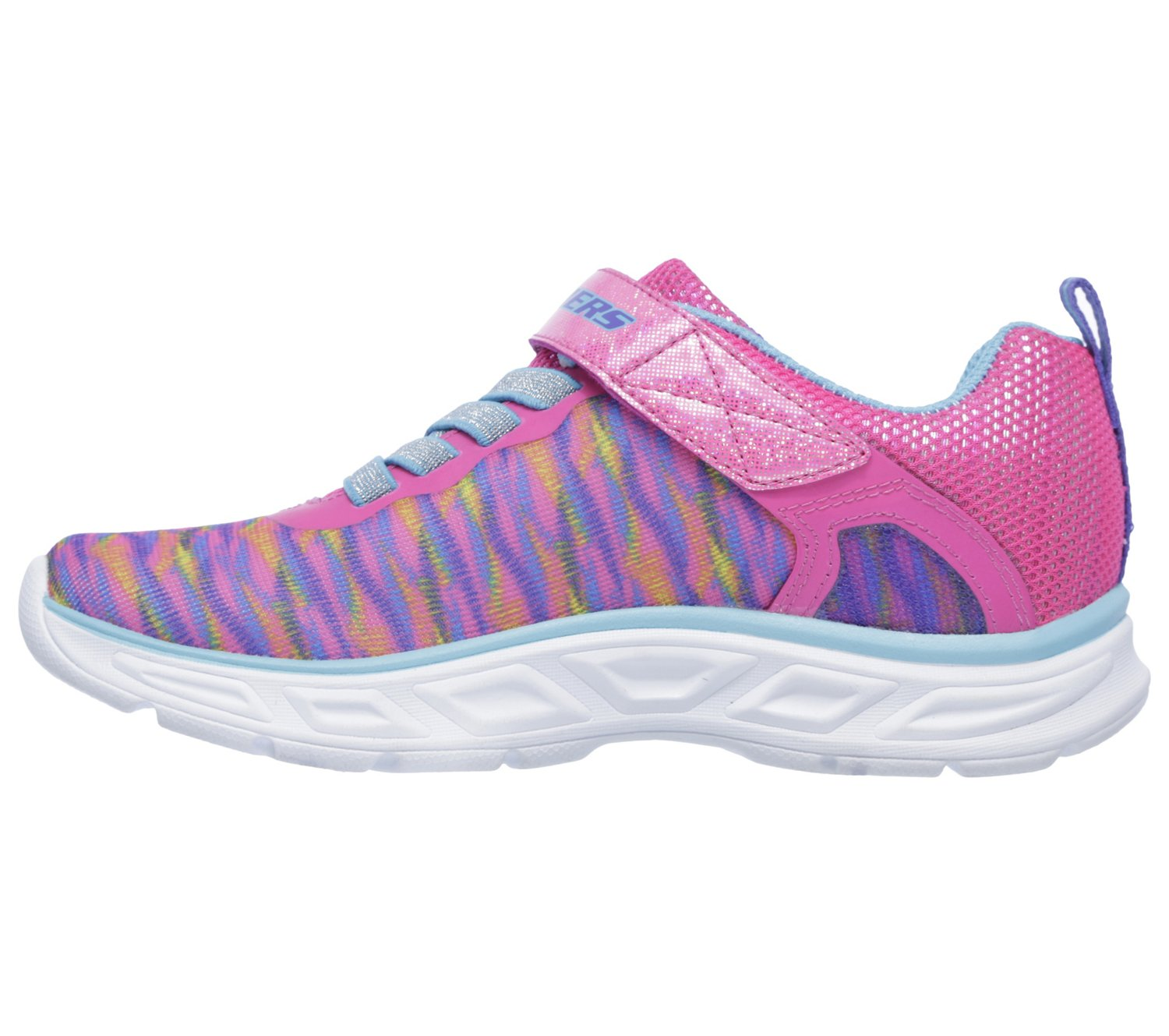 SKECHERS Girls' S Lights Litebeams Colorburst Shoes - view number 1