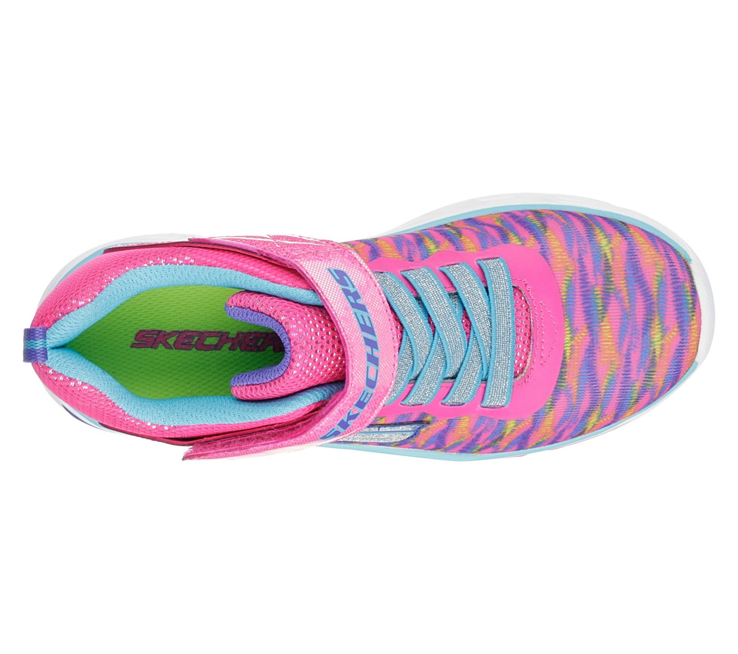 SKECHERS Girls' S Lights Litebeams Colorburst Shoes - view number 5