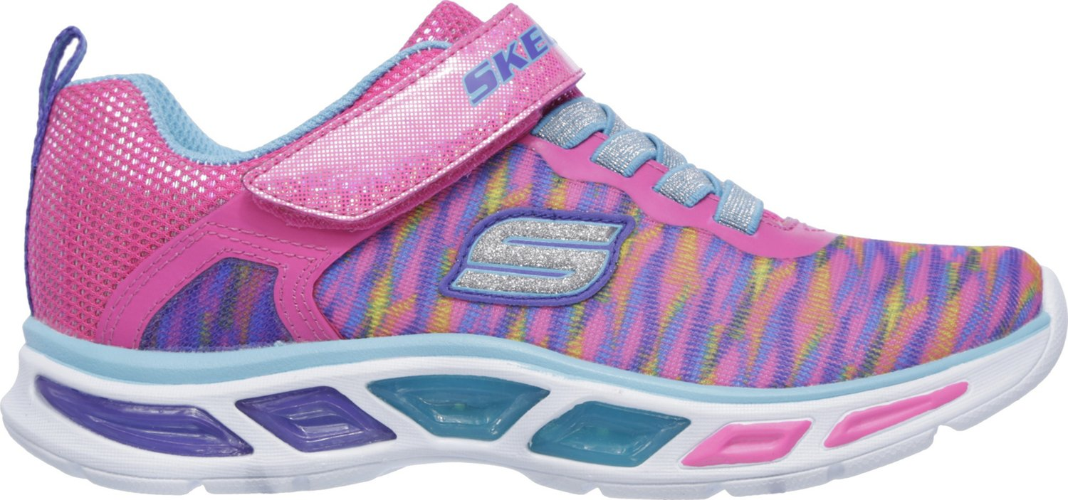 SKECHERS Girls' S Lights Litebeams Colorburst Shoes - view number 2