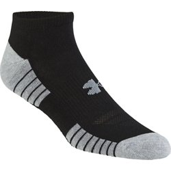 HeatGear Tech No-Show Socks 3 Pack