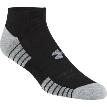 ae23b35b5 Academy / Under Armour HeatGear Tech No-Show Socks 3 Pack. Academy.  Hover/Click to enlarge