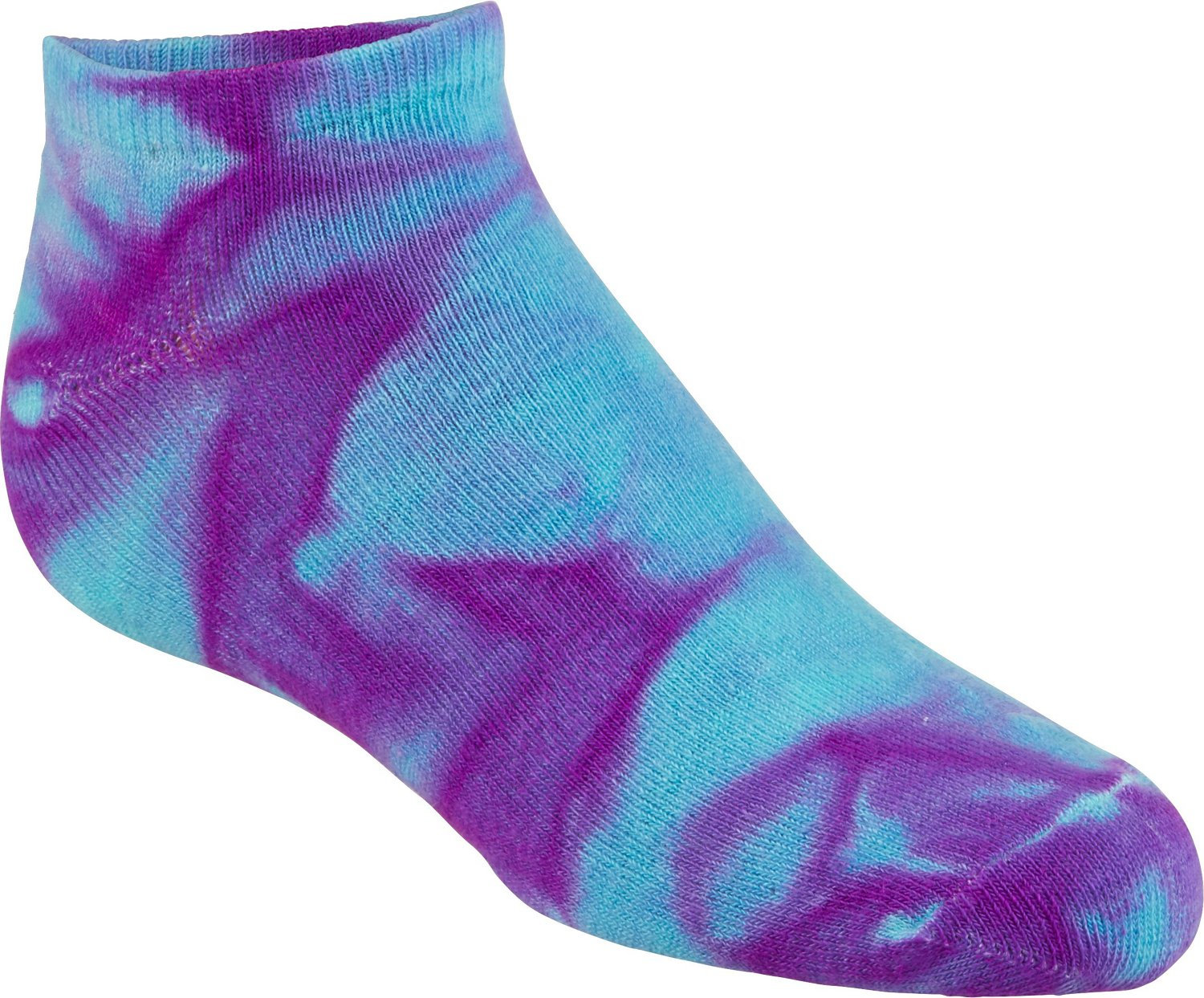 BCG Women's True Bright Tie-Dye Fashion Socks 6 Pack - view number 2