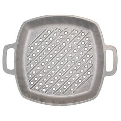 Mr. Bar-B-Q™ Cast Aluminum Deep-Dish Searing Griddle