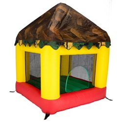 6.25 ft x 6 ft Bounce House with Tree House Cover
