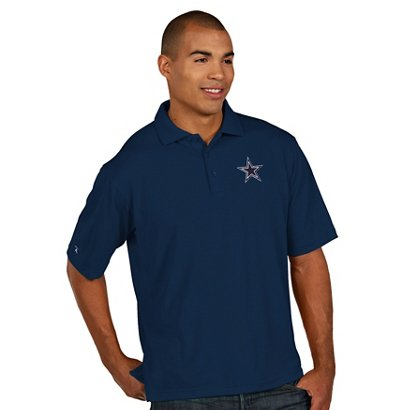 bd6b9f4af18 ... Men's Dallas Cowboys Piqué Xtra Lite Polo Shirt. Dallas Cowboys  Clothing. Hover/Click to enlarge