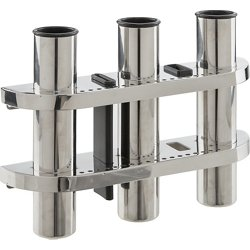Stainless-Steel 3-Rod Holder