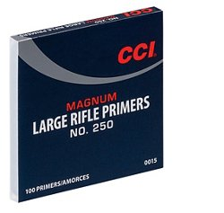 CCI 250 Mag Large Rifle Primers 100-Pack