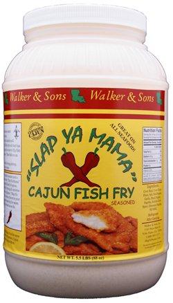 Slap Ya Mama 1-Gallon Cajun Fish Fry Seasoning
