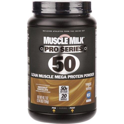 Muscle Milk Pro Series 50 Lean Muscle Mega Protein Powder 2.54 lbs