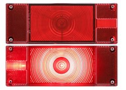 ONE LED Low-Profile Marine Taillights