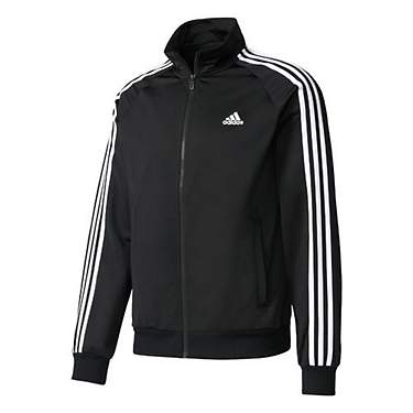 12a8013732a adidas Men's Essentials 3-Stripe Tricot Track Jacket