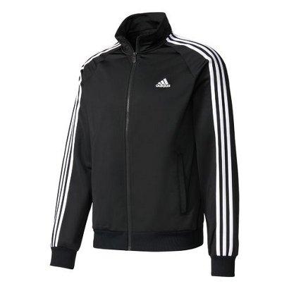 7e2c5846b50f ... adidas Men s Essentials 3-Stripe Tricot Track Jacket. Men s Jackets    Vests. Hover Click to enlarge