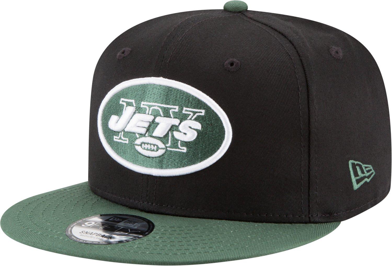 New Era Men s New York Jets 9FIFTY Baycik Snapback Cap  a3deb317feb9