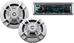 "Kenwood Marine Motorsports 200W Digital Media Receiver with Two 6-1/2"" Speakers"