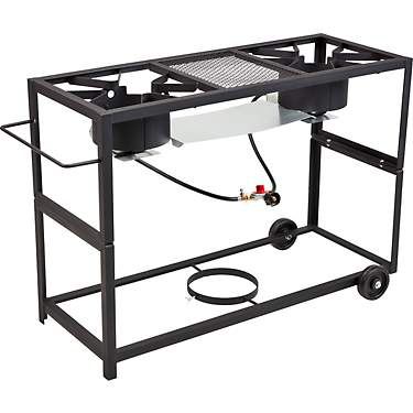 Outdoor Gourmet Double Burner Propane Fry Cart