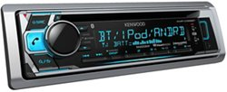 Kenwood 50W x 4 Marine CD Receiver with Bluetooth®