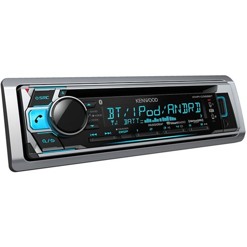 Kenwood 50W x 4 Marine CD Receiver with Bluetooth®