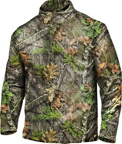Adults' Performance 1/4 Zip Camo Jacket